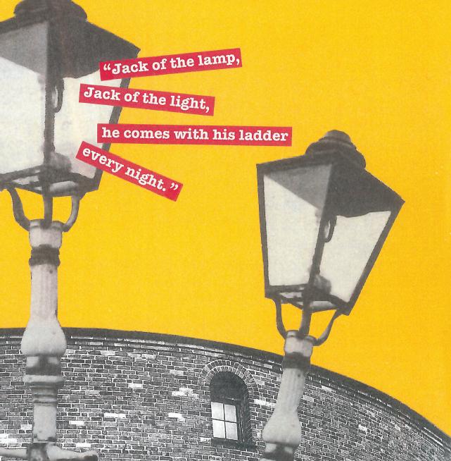 Gas Lamps Birmingham Collage