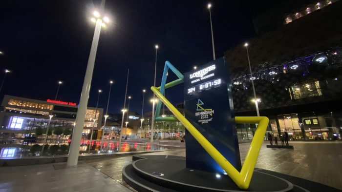 Commonwealth Games Clock, Centenary Square